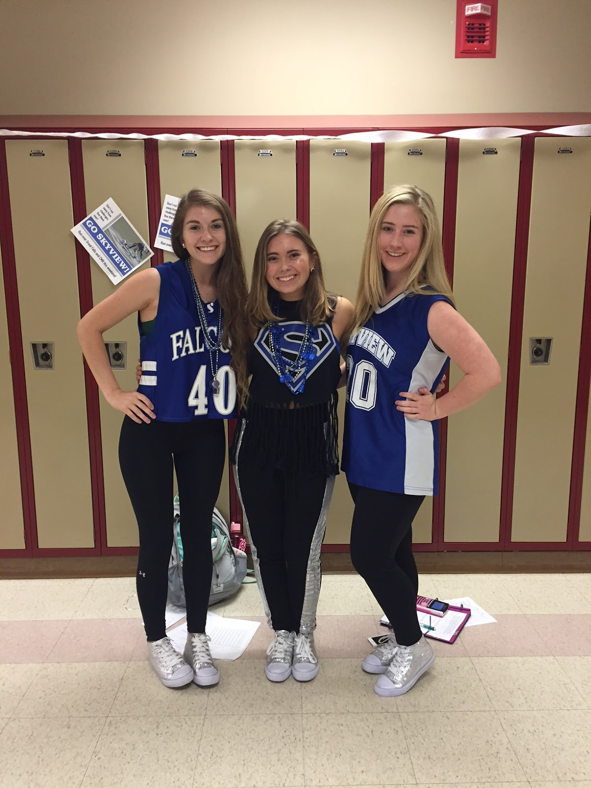 Senior Year Is That Homecoming Week Means What You Wear Daily Differs From The Underclassmen Cara And Her Friends Carefully Planned Their Outfits