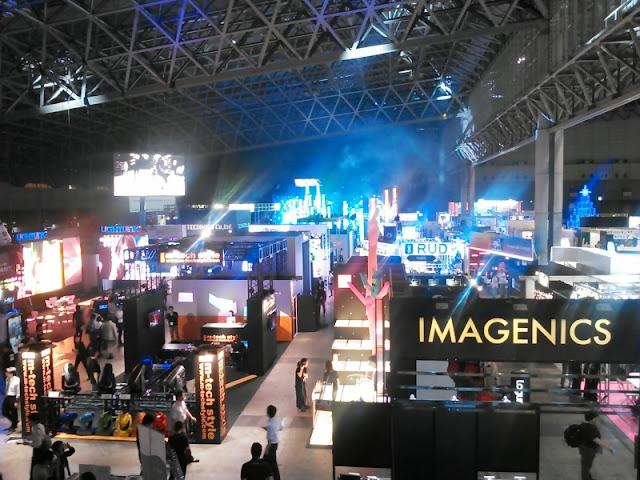 第3回 ライブ&イベント産業展の開催模様です。