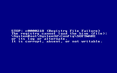 how to fix blue screen of death windows xp