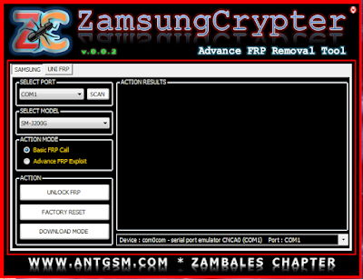 Zamsung Crypter Advanced Frp Remove Tool | Remove samsung frp lock