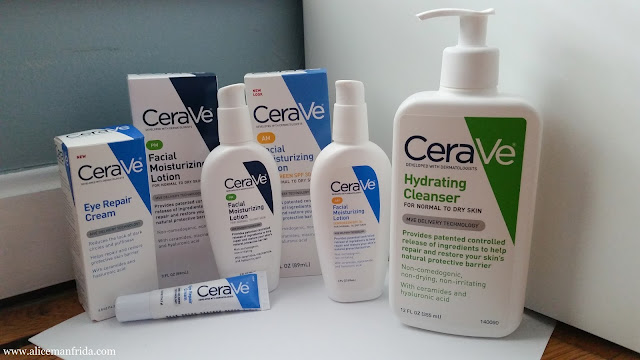 Hydrating Cleanser, Eye Repair Cream, Facial Moisturizing Lotion, CeraVe, skin care, cleanser, moisturizer, skin care routine