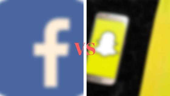 صراعات بين فيس بوك و سناب شات منذ عام 2012