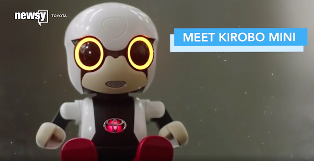 We screen the video from CNE The Scene Newsy Channel on the release of the Autobot companion - Kirobo