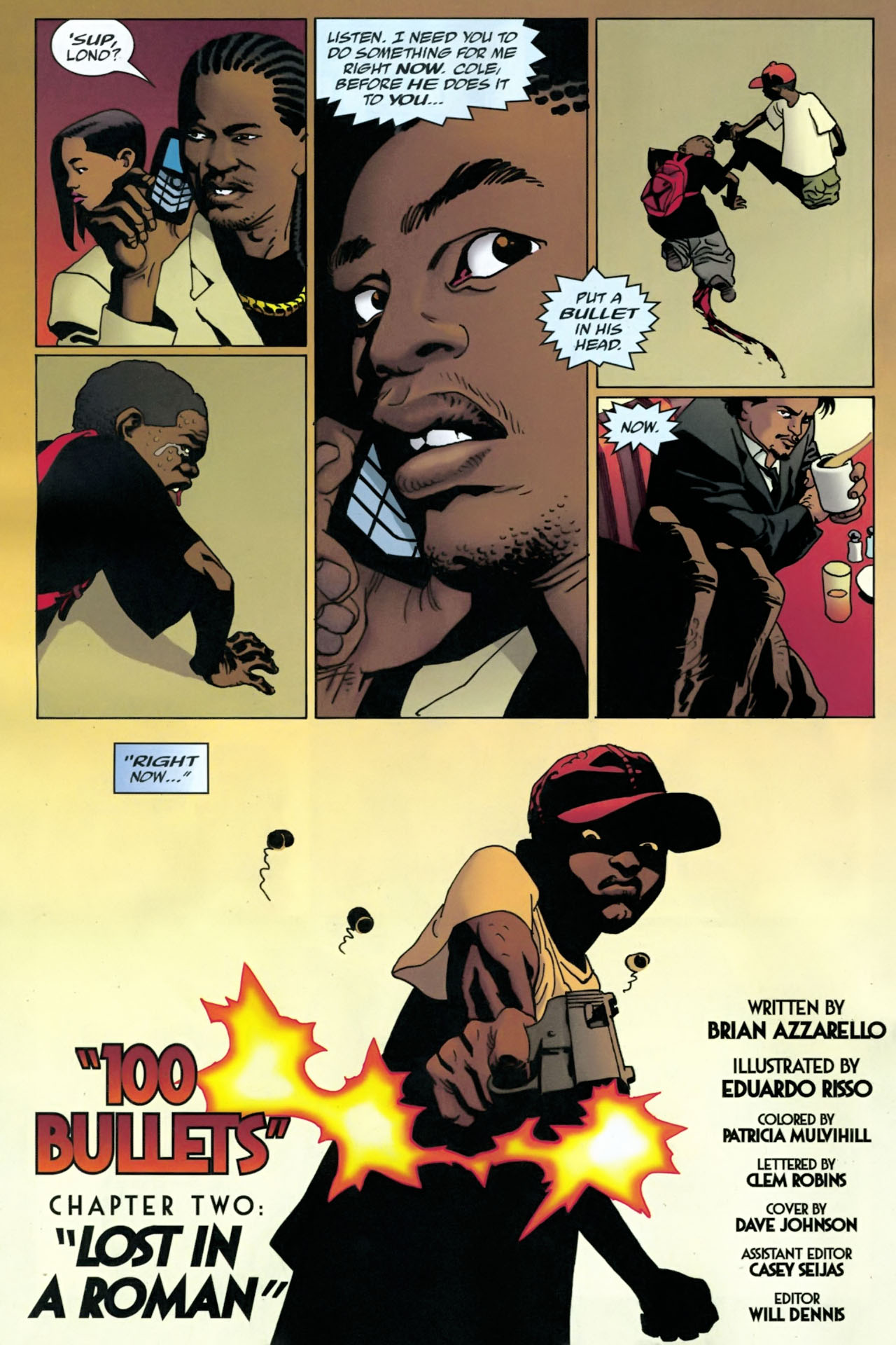 Read online 100 Bullets comic -  Issue #90 - 23