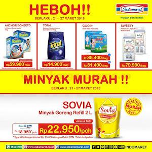 Promo Heboh Indomaret Susu Dan Minyak Murah 21 - 27 Maret 2018
