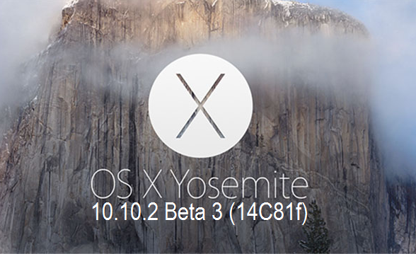 Download OS X Yosemite 10.10.2 Beta 3 (14C81f) Delta & Combo .DMG File via Direct Links