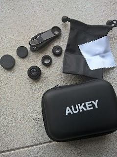 Set Camera Lens 3-in-1 AUKEY PL-A3