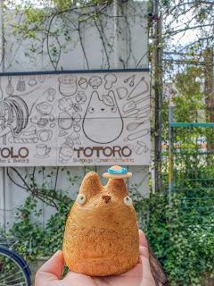 tokyo japan setagaya shiro hige cream puff factory shop