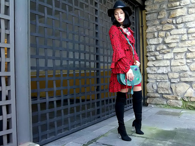 fashion, moda, look, outfit, blog, blogger, walking, penny, lane, streetstyle, style, estilo, trendy, rock, boho, chic, cool, casual, ropa, cloth, garment, inspiration, fashionblogger, art, photo, photograph, Avilés, oviedo, gijón, vestido, boots, zapatos, zara,