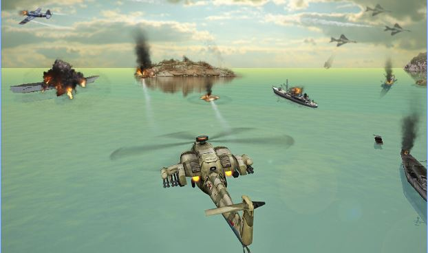 Gunship Strike 3D MOD apk free download