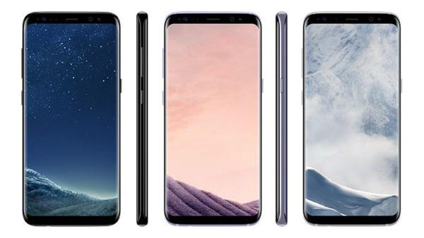 سامسونغ تكشف رسميا عن هاتفيها الجديدين غالاكسي S8 وغالاكسي S8 بلس