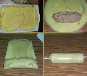 resep membuat egg chicken roll