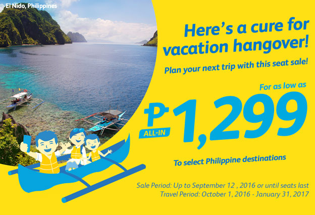 Cebu Pacific Promo Ticket September 2016