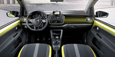 Volkswagen Up! interior hd image