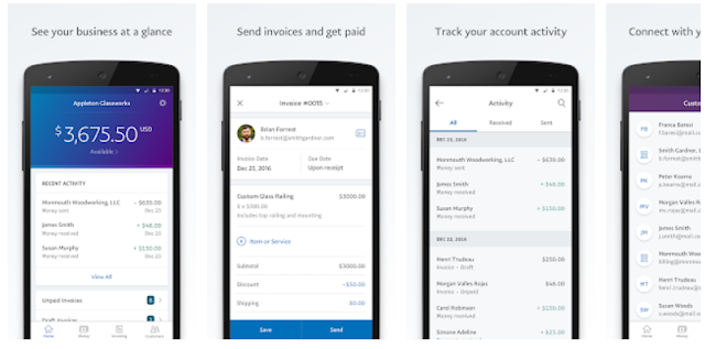 PayPal Business Send Invoices Mobile App Youth Apps - Invoice paypal app