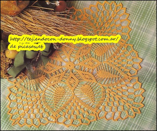 TEJIDOS A CROCHET - GANCHILLO - PATRONES: Carpetas tejidas a ganchillo