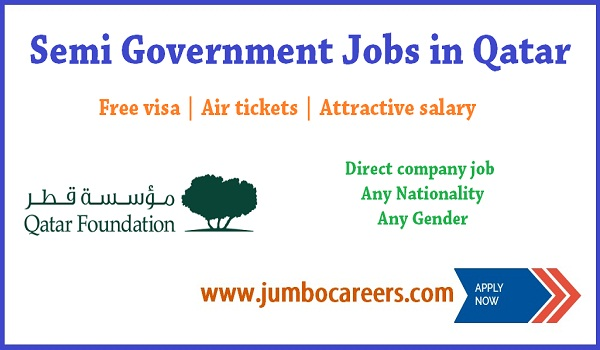 Direct company jobs in Qatar, Qatar jobs for Indians,