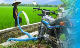 Catatan Bang Ochim: Fuboru, Praktisnya Pompa Air Bertenaga ...