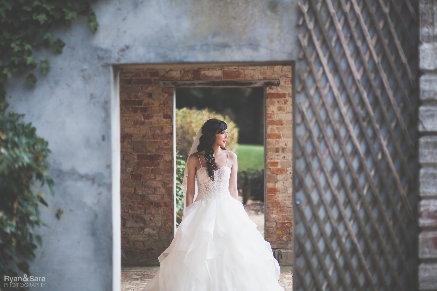 wed2b paige wedding dress, wedding, ettington park hotel