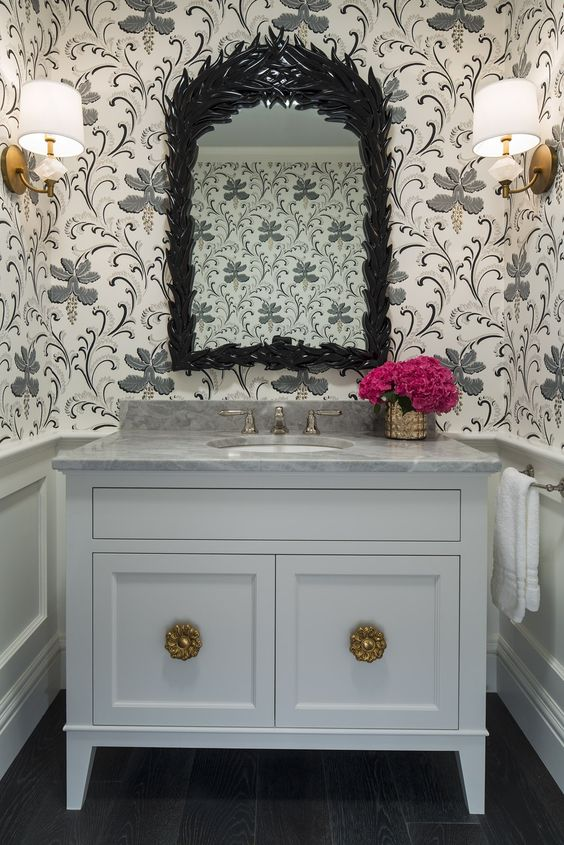 25 Powder Room Gems South Shore Decorating Blog