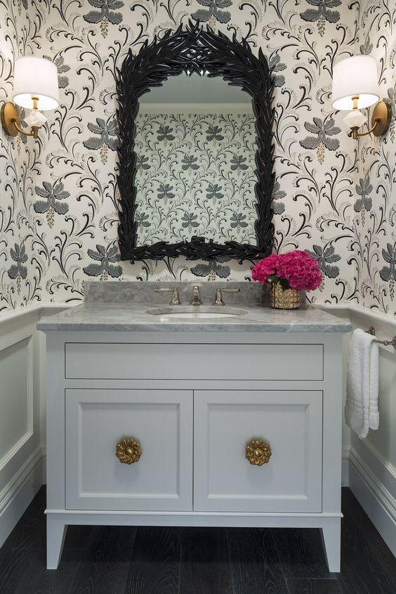 25 Powder Room Gems South Shore Decorating Blog