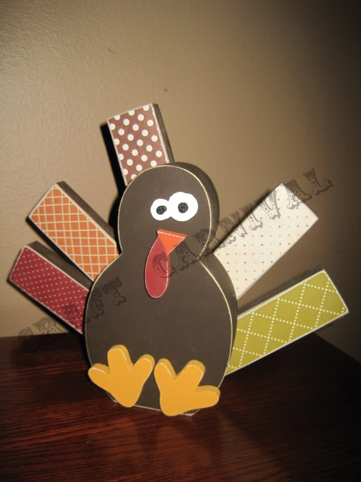 Craft Carnival: {Thanksgiving Craft Night}