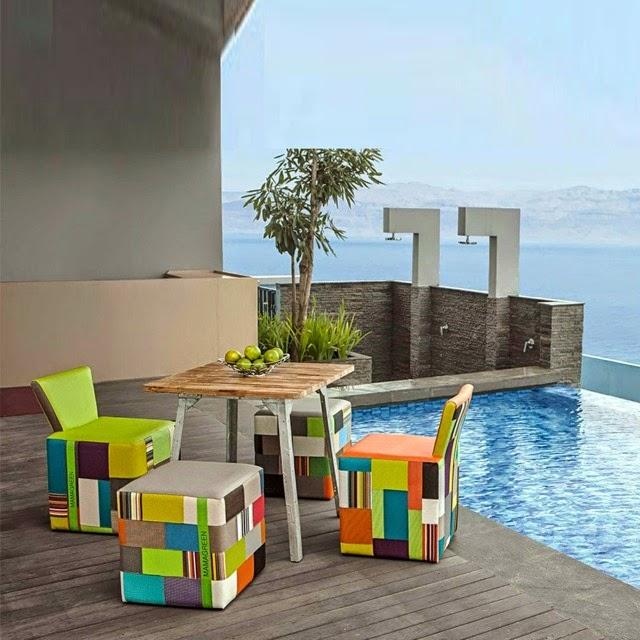 mobilier en r sine tress e au jardin de chlo mobilier de jardin les tendances 2015. Black Bedroom Furniture Sets. Home Design Ideas