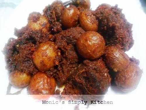 Resep Rendang Padang Daging Sapi Kentang Monic S Simply Kitchen