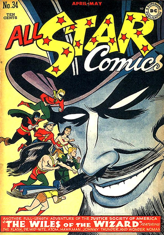 Read online All-Star Comics comic -  Issue #34 - 1