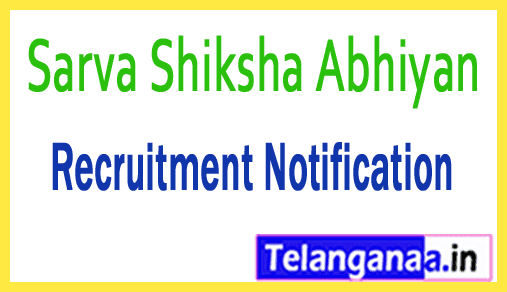 Sarva Shiksha Abhiyan SSA Recruitment Notification