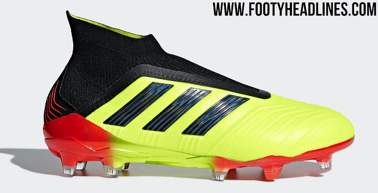 96f364276fc ... new zealand energy mode adidas predator 18 world cup boots solar yellow  core black red 85ea5
