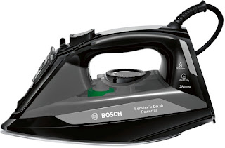 hurry today deals new product  Bosch TDA3020GB Power III Steam Iron, 2800 W – Black
