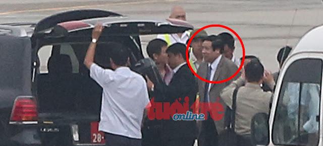 Ông Phùng Quang Thanh đã về đến Hà Nội