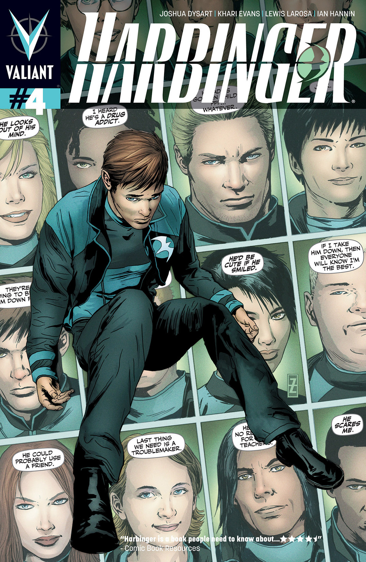 Harbinger (2012) issue 4 - Page 1