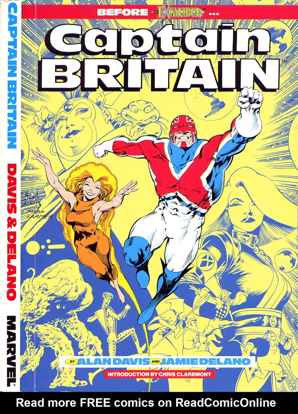 Captain Britain (1988) issue TPB - Page 1