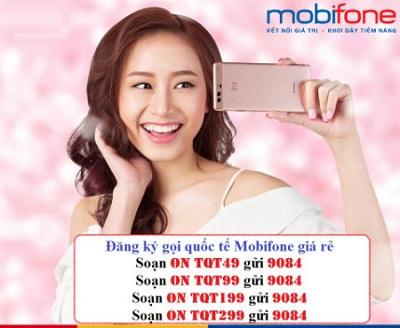 Các gói Global Saving của Mobifone