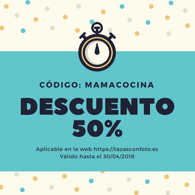 Código descuento mamacocina tazasconfotos.es