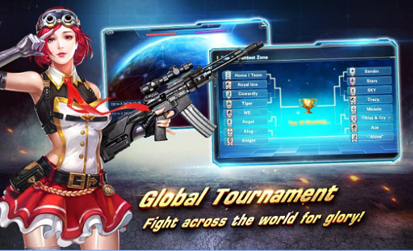 Blaze of Strike, Game Point Blank Versi HP