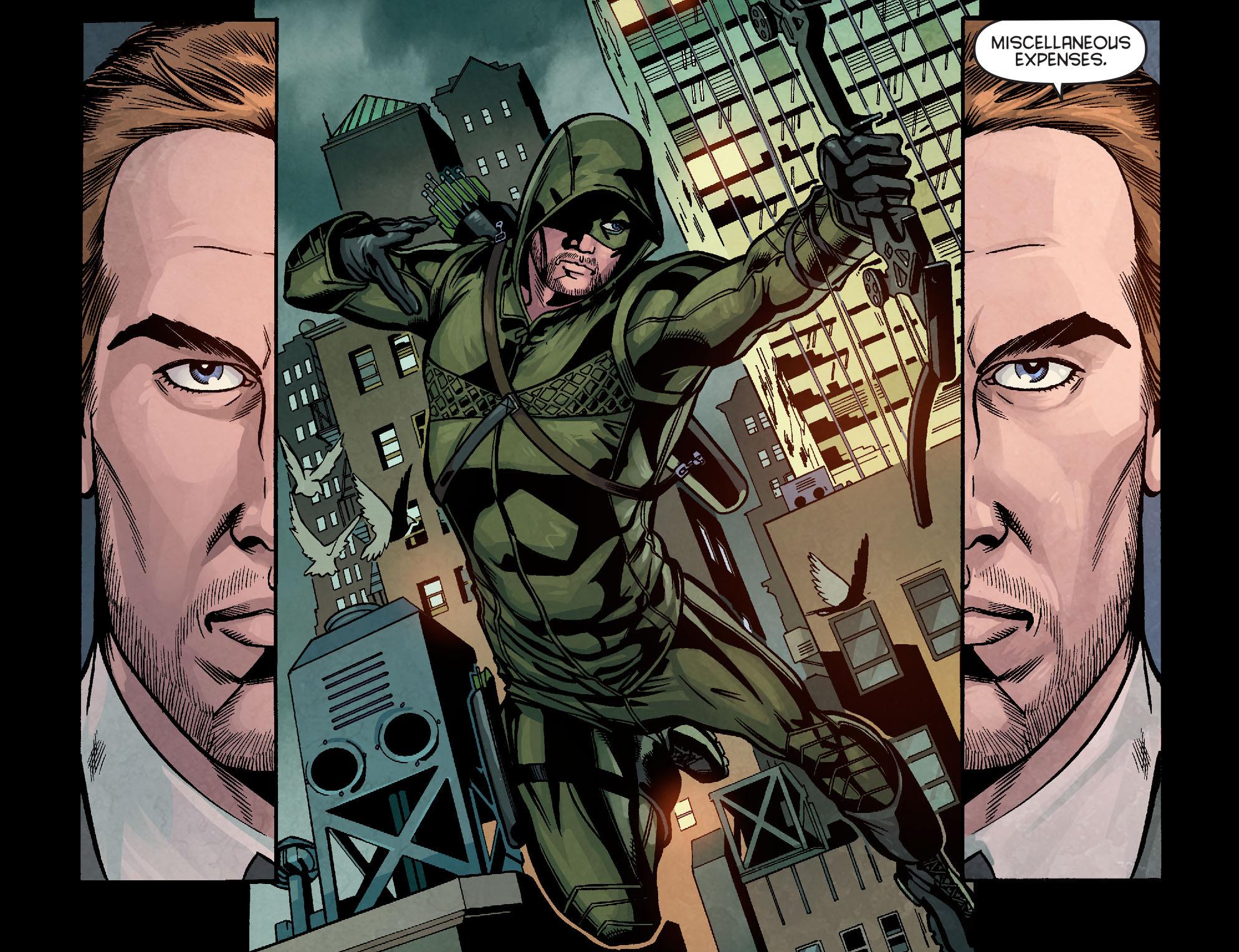 Read online Arrow: Season 2.5 [I] comic -  Issue #10 - 4