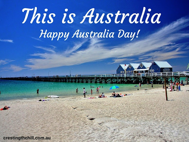 Happy Australia Day to everybody! January 26th.