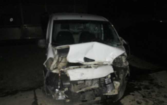 В результате ДТП на Закарпатье пострадали пять человек