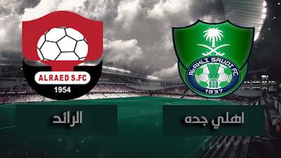 مشاهدة مباراة اهلي جده والرائد بث مباشر اليوم في الدوري السعودي