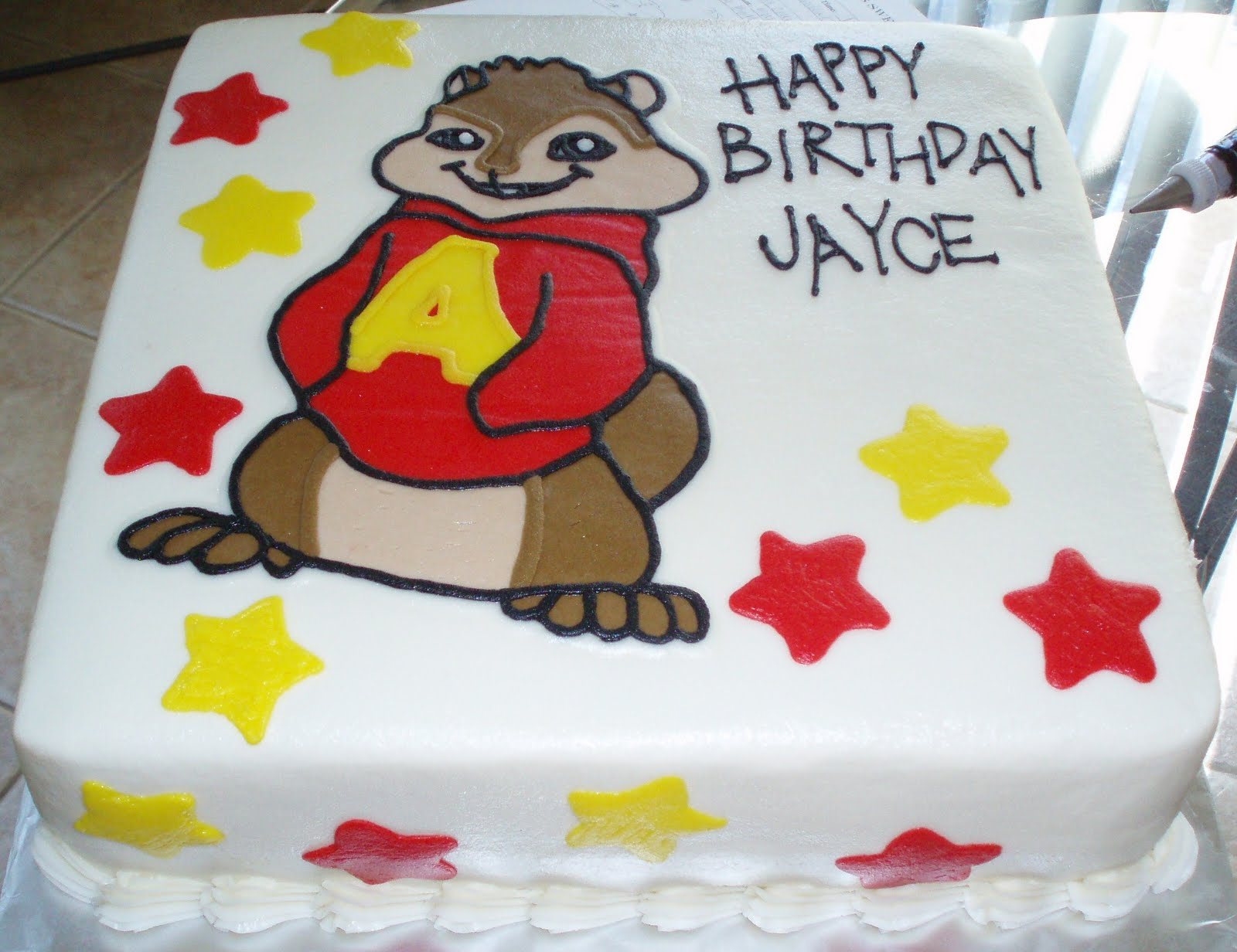 Alvin And The Chipmunks Birthday Cake: SAMANTHA'S SWEET TREATS