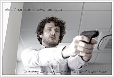 short film, character poster, film poster, gun,