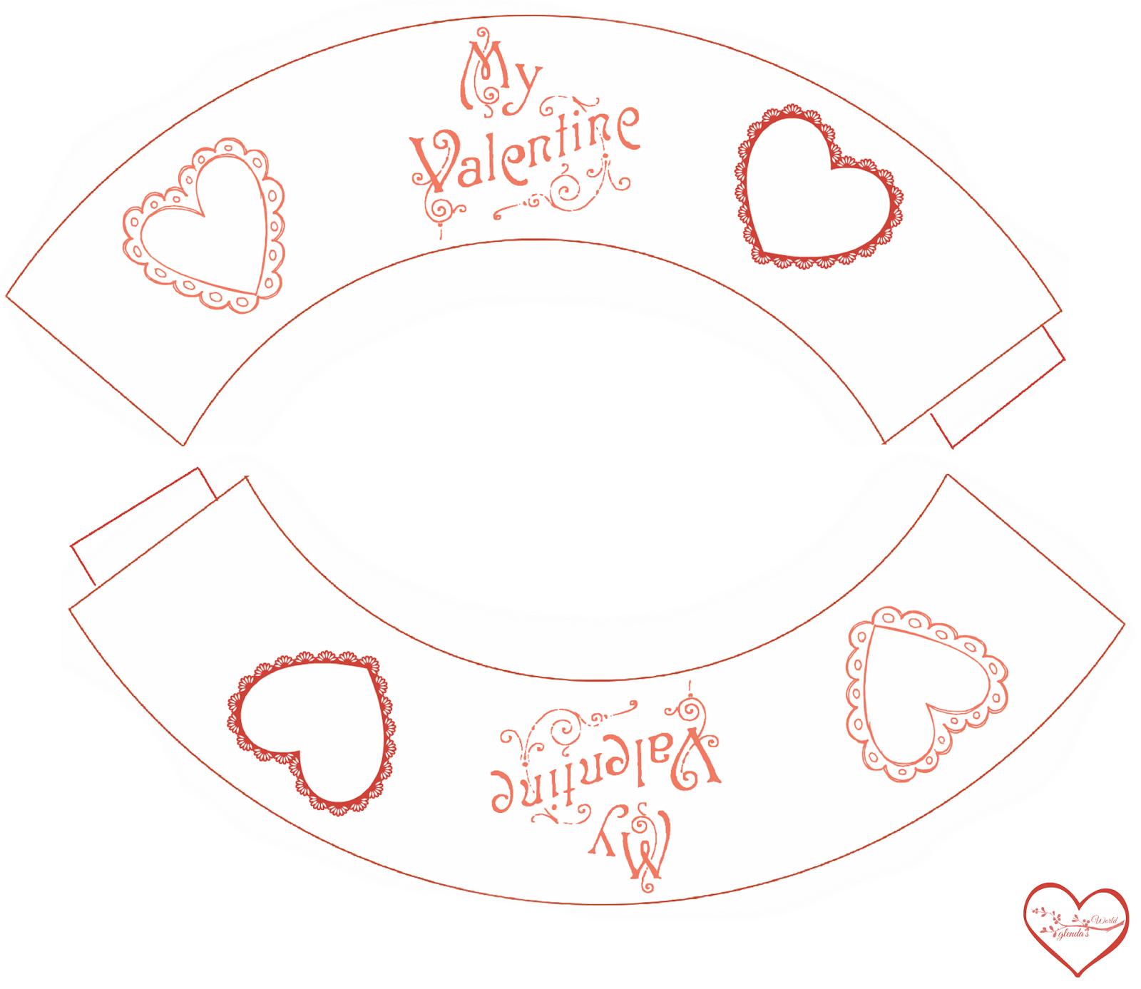 Glenda S World Valentine Printable S For Kids