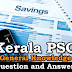 Kerala PSC General Knowledge Question and Answers - 92