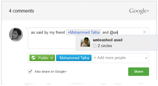 how to add google plus user profile to blogger comment box