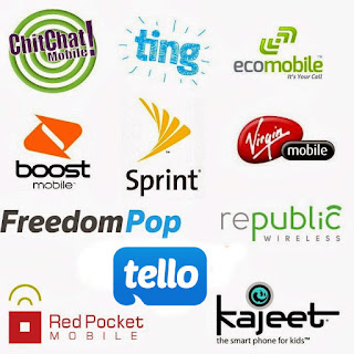 Sprint and MVNO Logos