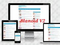 Blanoid template v2 amp blogger Free
