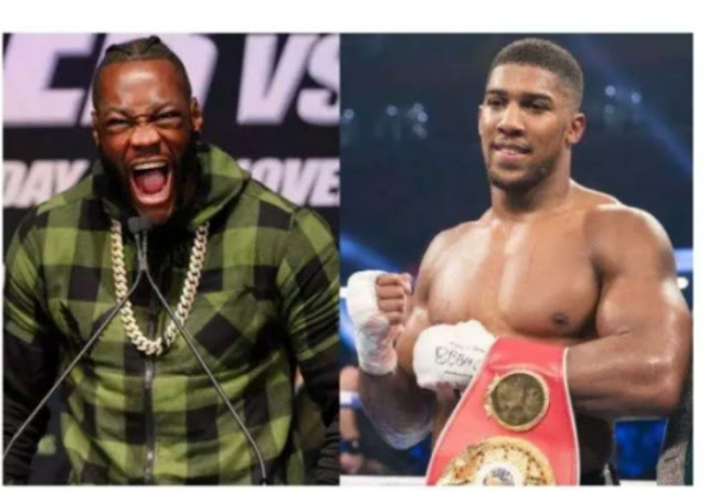 Deontay Wilder:i dont care about Anthony joshua